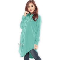 Lydia Longsleeve Tunic Shirt Dress - TOSCA [TNK02]