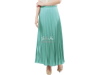 Pleated Long Skirts / Rok Panjang Lipit - MINT