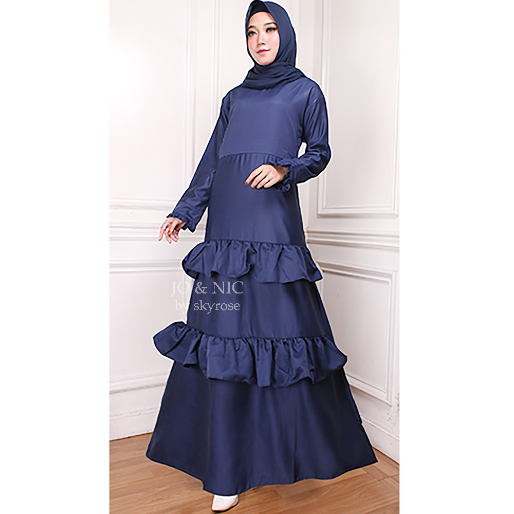 gamis muslim long dress baloteli murah