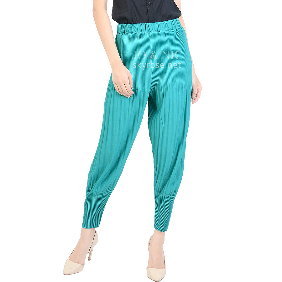 PVP4399 Melissa Pleated Pants bhn spandex lipit ALLSIZE fit up to XL
