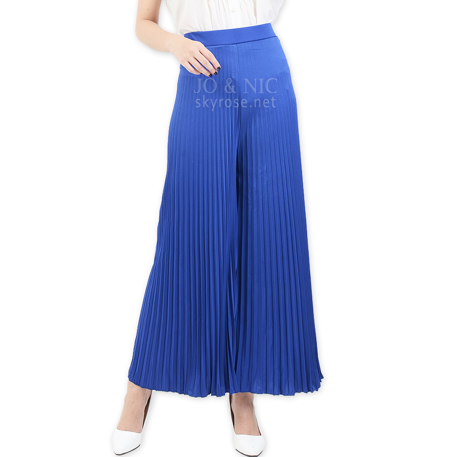PVP4501 Pleated Culotte Pants - Kulot Prisket bhn spandex korea import HQ freesize fit up to XL